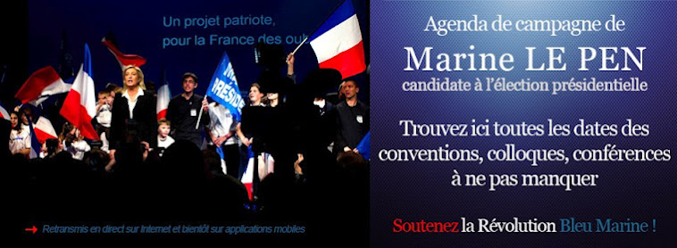 MARINE LE PEN. FRONT NATIONAL