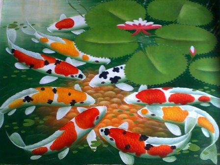 Animals plants rainforest giving feed koi fish for What to feed koi fish