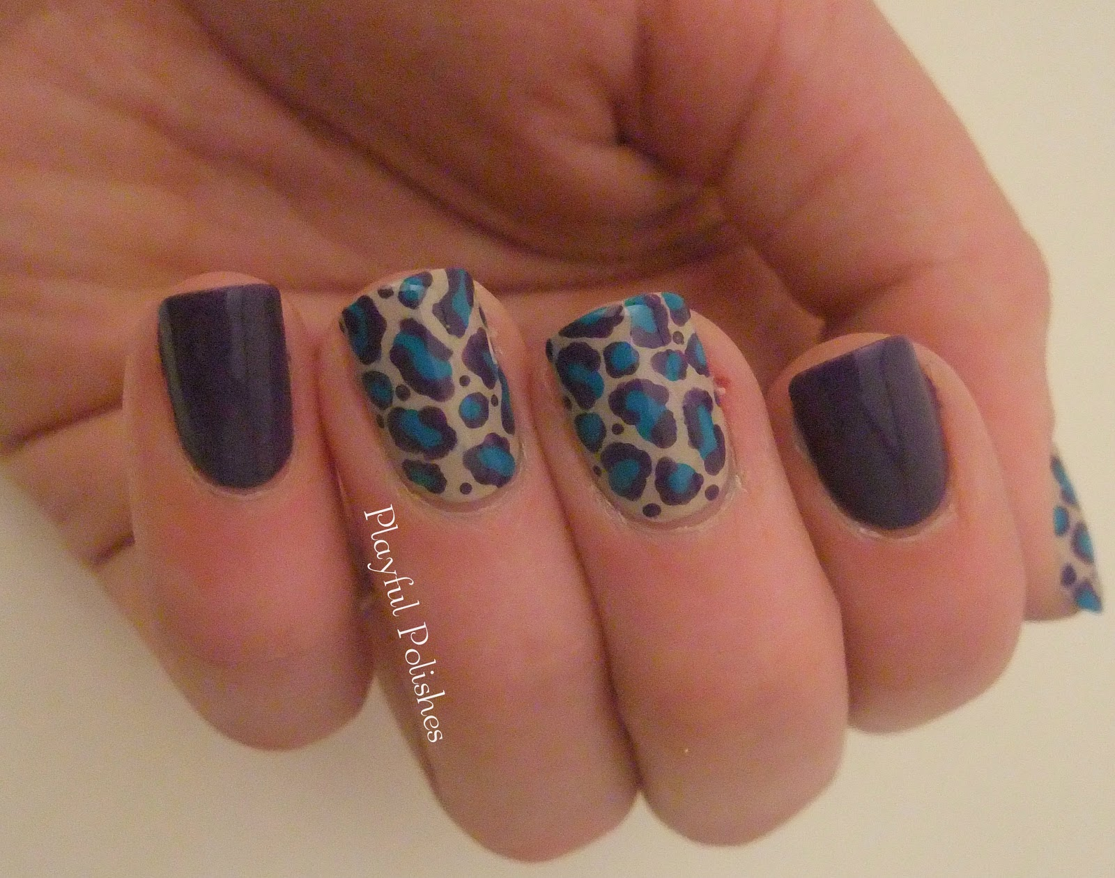 Playful polishes january nail art challenge day 10 january nail art challenge day 10 prinsesfo Gallery