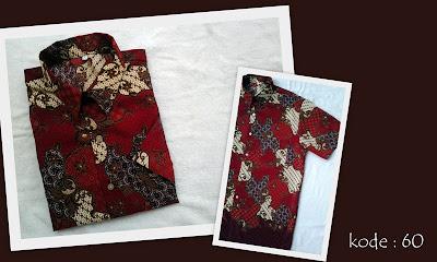 Baju Batik Pria 60