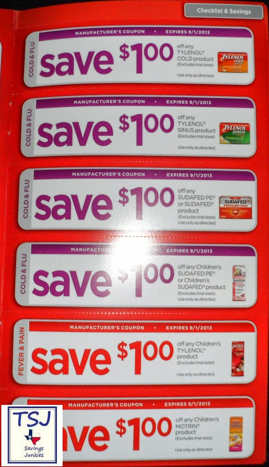 Walgreens in store coupons
