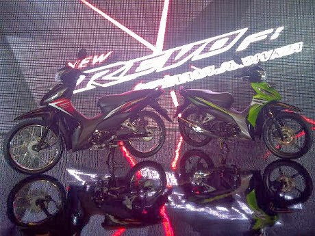 Foto New Honda Revo vs Honda Revo Fit Tahun 2014
