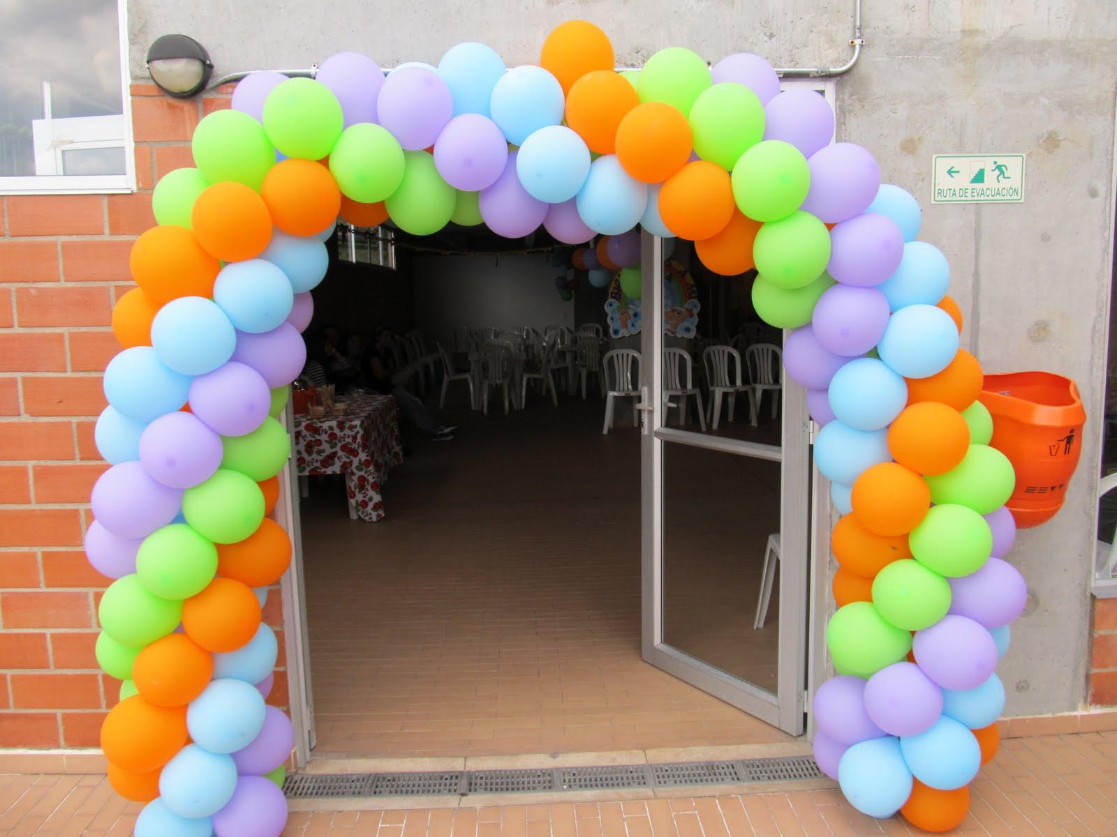 Pz c globos - Decoracion de globos ...