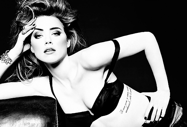 Amber Heard en Vanity Fair Magazine