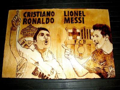 Cristiano Ronaldo e Leonel Messi