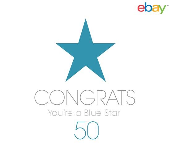 ebay Blue Star Certificate