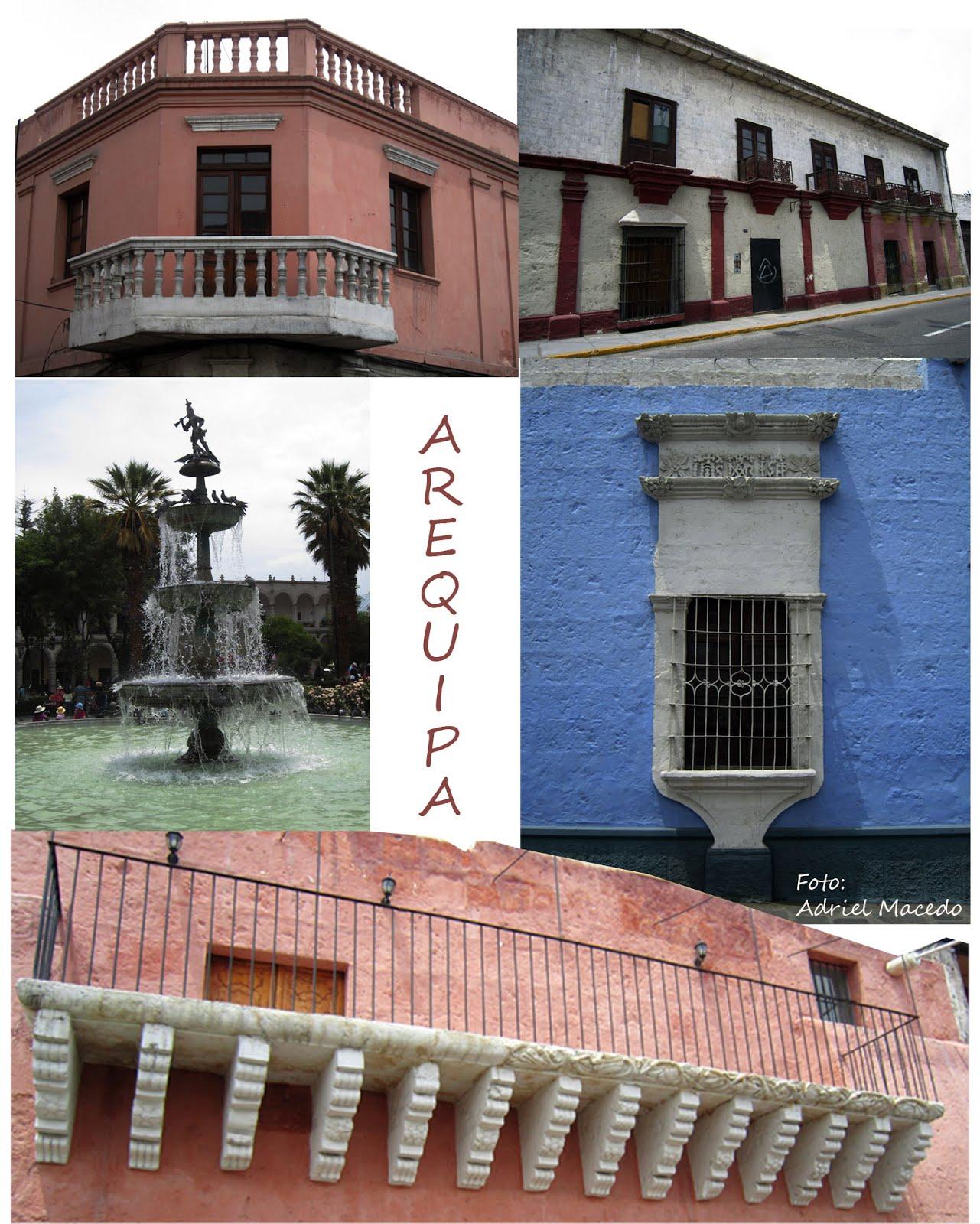 Balcones y Tuturutu de Arequipa
