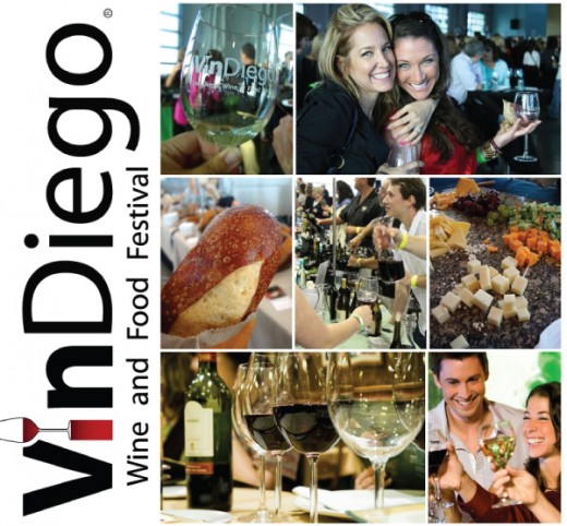 Promo Code SDVILLE Saves BIG On Tickets To The 5th Annual VinDiego Wine & Food Festival - April 8!