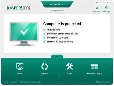 Kaspersky Antivirus 2012 Full Version With Serial Crack Free Download Mediafire Links