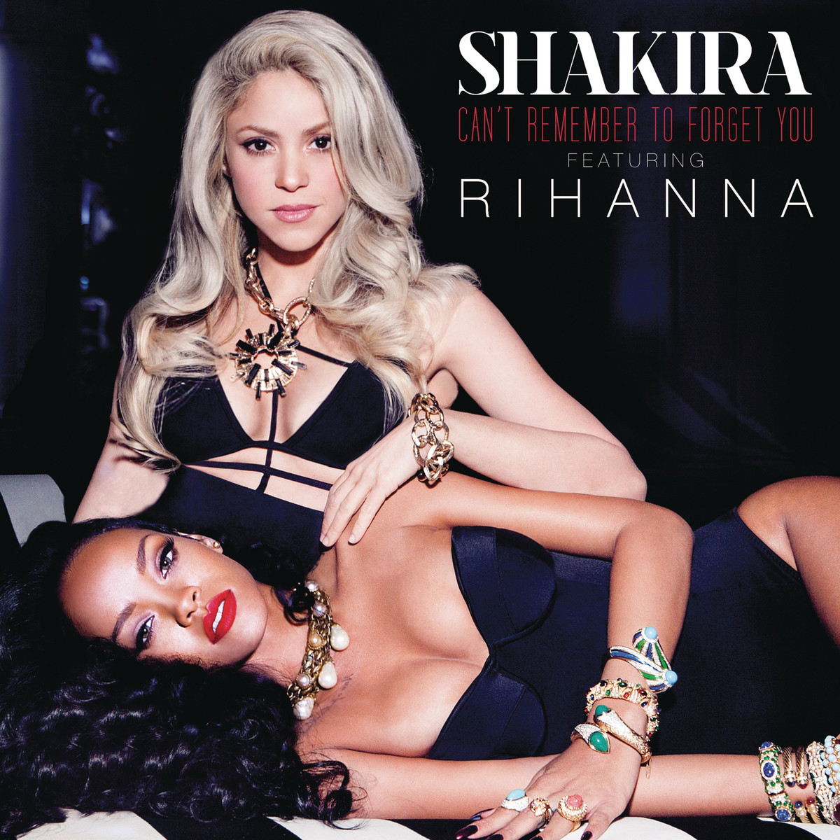 Shakira and Rihanna Can't Remember To Forget You Candid Photoshoot