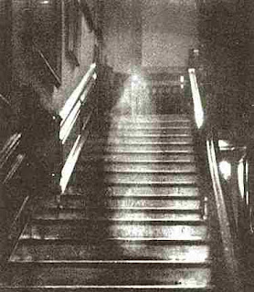 Image captured from paranormal activity at Raynham Hall