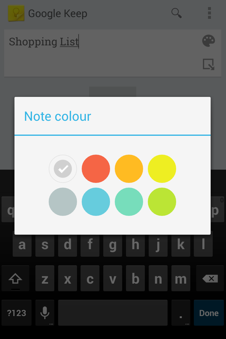 google keep for iphone