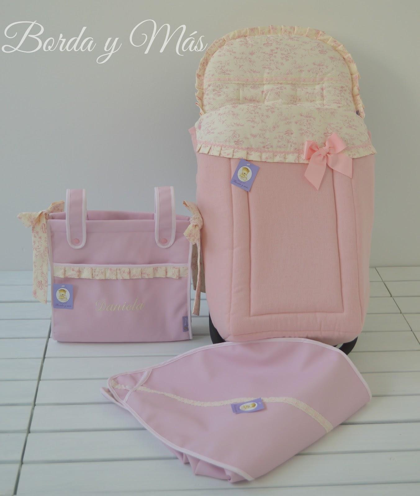 Bordaym s complementos infantiles sacos personalizados for Modelos silla maclaren
