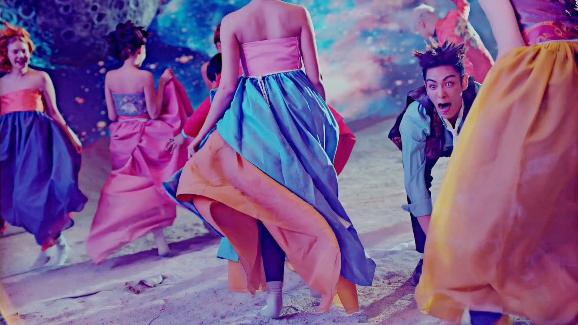 Big Bang's TOP in Bae Bae MV