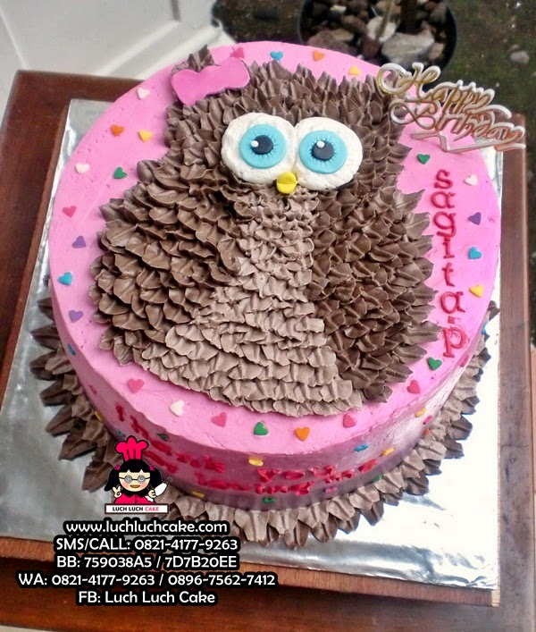 Kue Tart Burung Hantu Daerah Surabaya - Sidoarjo