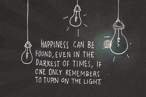 Happiness can be...