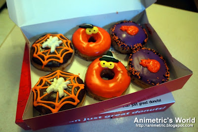 Halloween Creepers from Gonuts Donuts