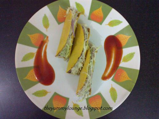 How to make Mexican Vegetarian Tacos Recipe Using Rajma