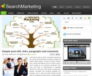SearchMarketing Blogger Template