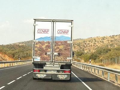 ilusion optica camion covap