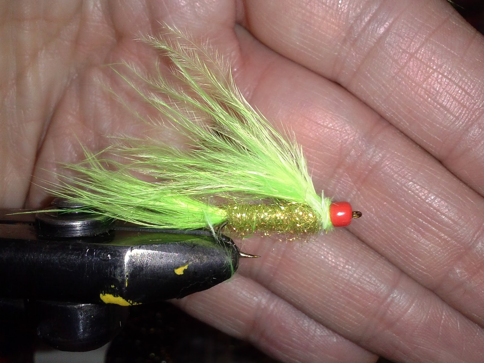 Buggin 39 out bluegill flies rock bass goggleye for Fly fishing for bluegill