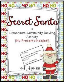 Secret Santa Clip Art Images & Pictures - Becuo