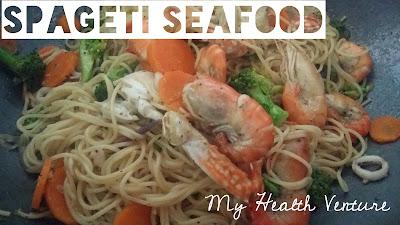 resepi spagethi seafood