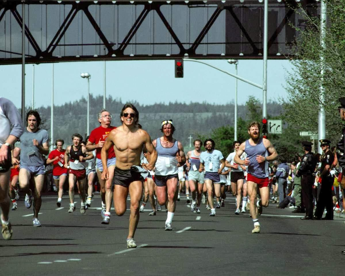 marathon, running, exercise, sport, police officers, fitness,muscles, six-pack
