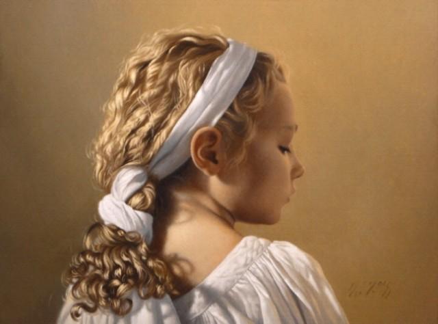 D.W.C. Girl Face - Artist David Gray