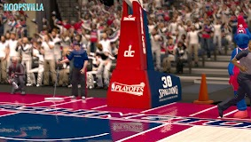 NBA 2k14 Stadium Mod : Playoff Edition - Washington Wizards - Verizon Center