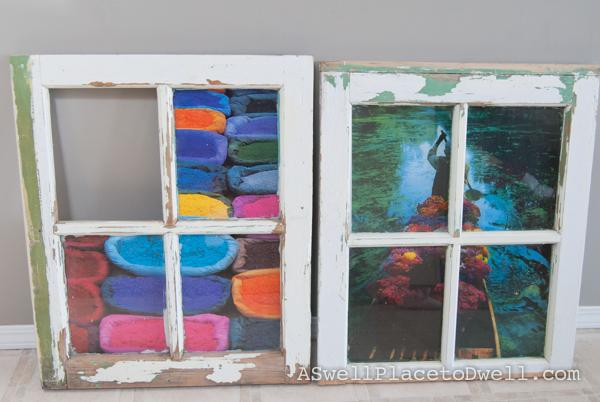 Antique Window Art