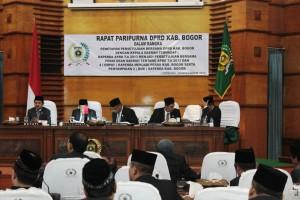 Persetujuan Bersama Perda APBD 2013