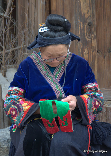 Miao embroidery, Guizhou, China