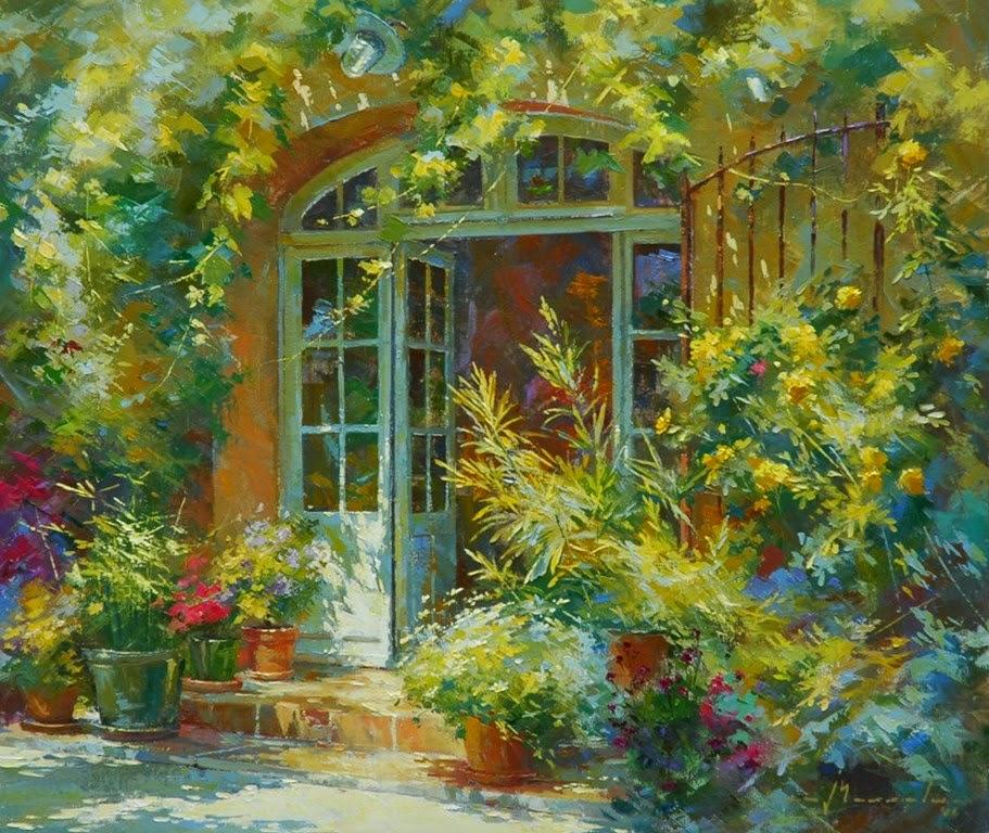 pinturas-de-balcones-con-flores