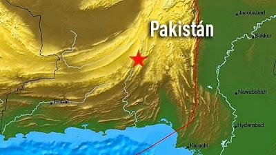 TERREMOTO 7,8 GRADOS EN PAKISTAN, 24 DE SEPTIEMBRE 2013