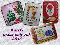 Wspólne kartkowanie w 2016