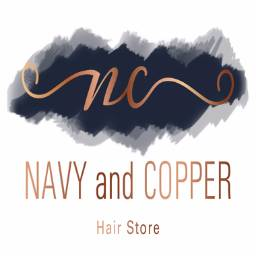 Navy and Copper