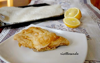 Filetti fritti di baccalà ricetta di pesce