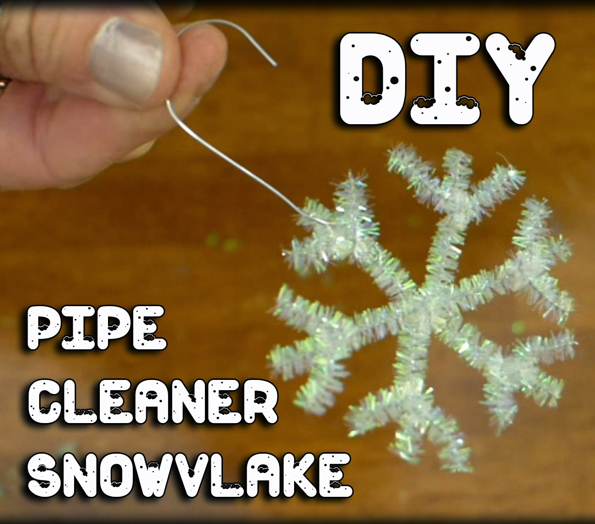 EasyMeWorld: 3 Easy Pipe Cleaner Christmas Ornaments