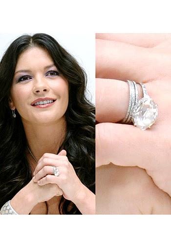 celebrity wedding ring; catherine zeta jones wedding ring; wedding ring; wedding ring price; wedding ring trend; wedding ring celebrity