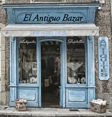 "VISITA NUESTRA TIENDA ""EL ANTIGUO BAZAR"""