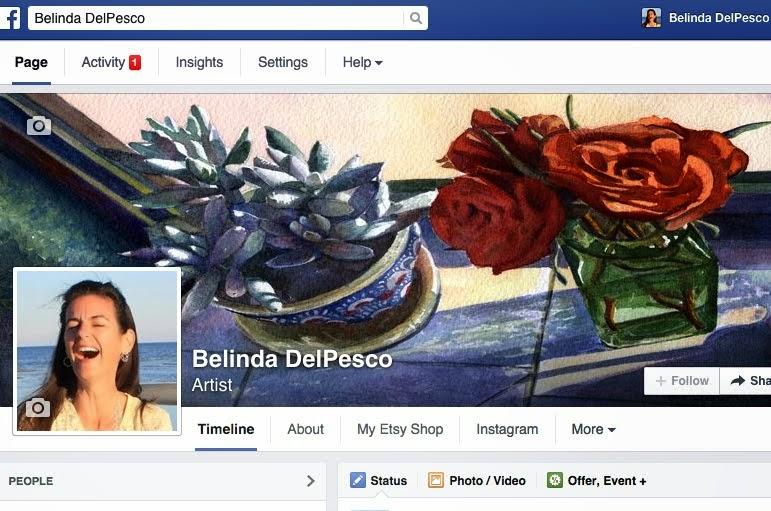 Follow Art Posts on Facebook