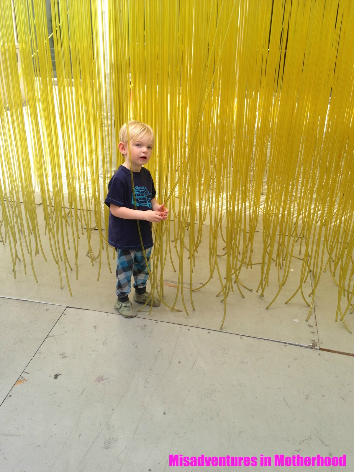 LACMA with kids