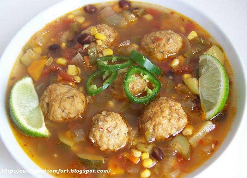 Kitchen Simmer: Mexican Meatball Soup (Albondigas)- Throwback Thursday