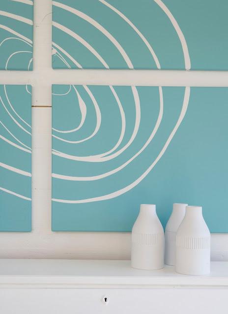 Hogar diez cuadros diy f ciles para tu hogar - Estilos de pintura para interiores ...