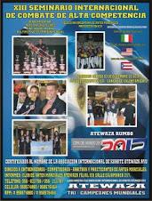 XIII Seminario Internacional de Combate de Alta Competencia