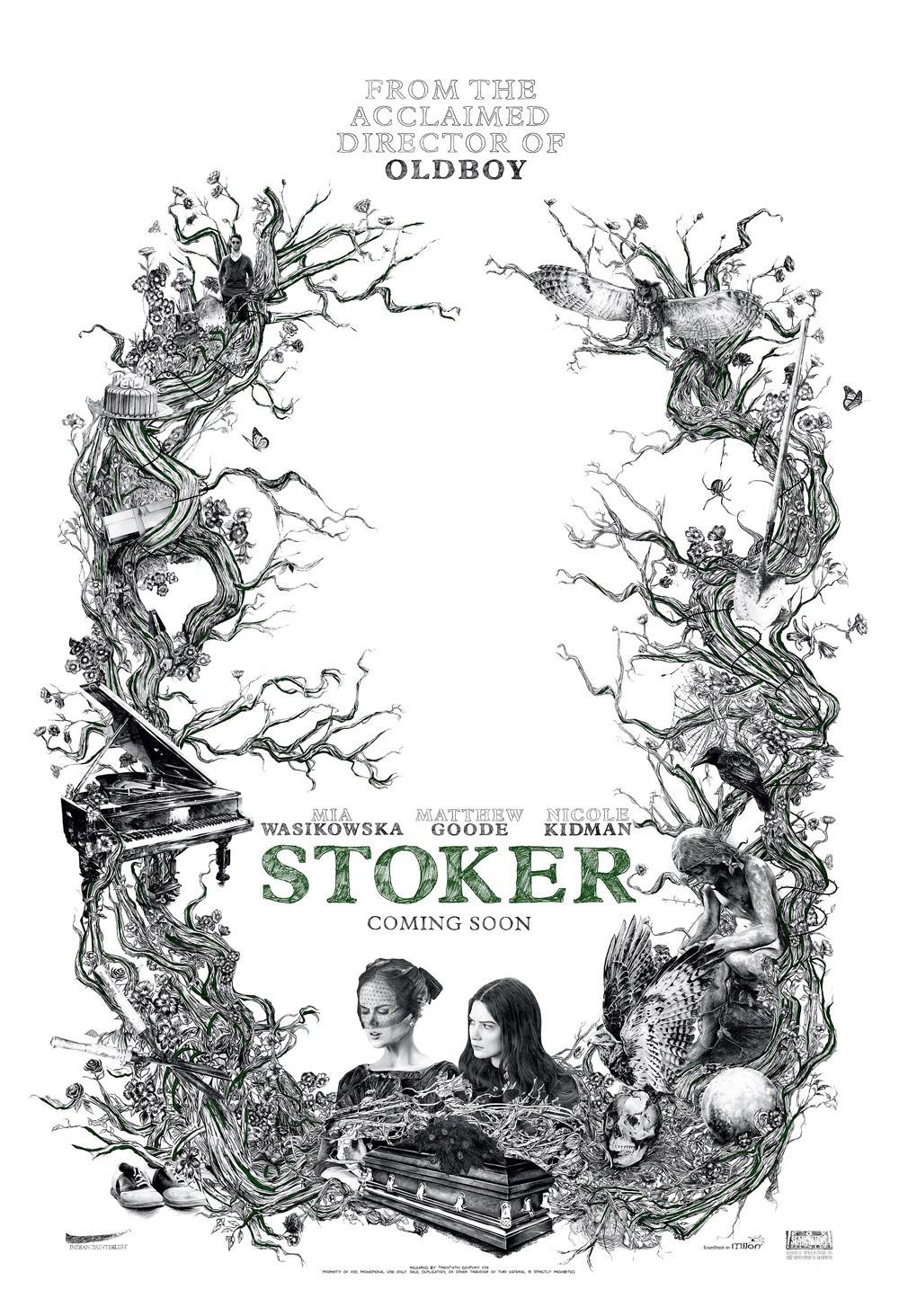 Premios Hellbound Heart al Cine de Terror 2013: votaciones Stoker-poster