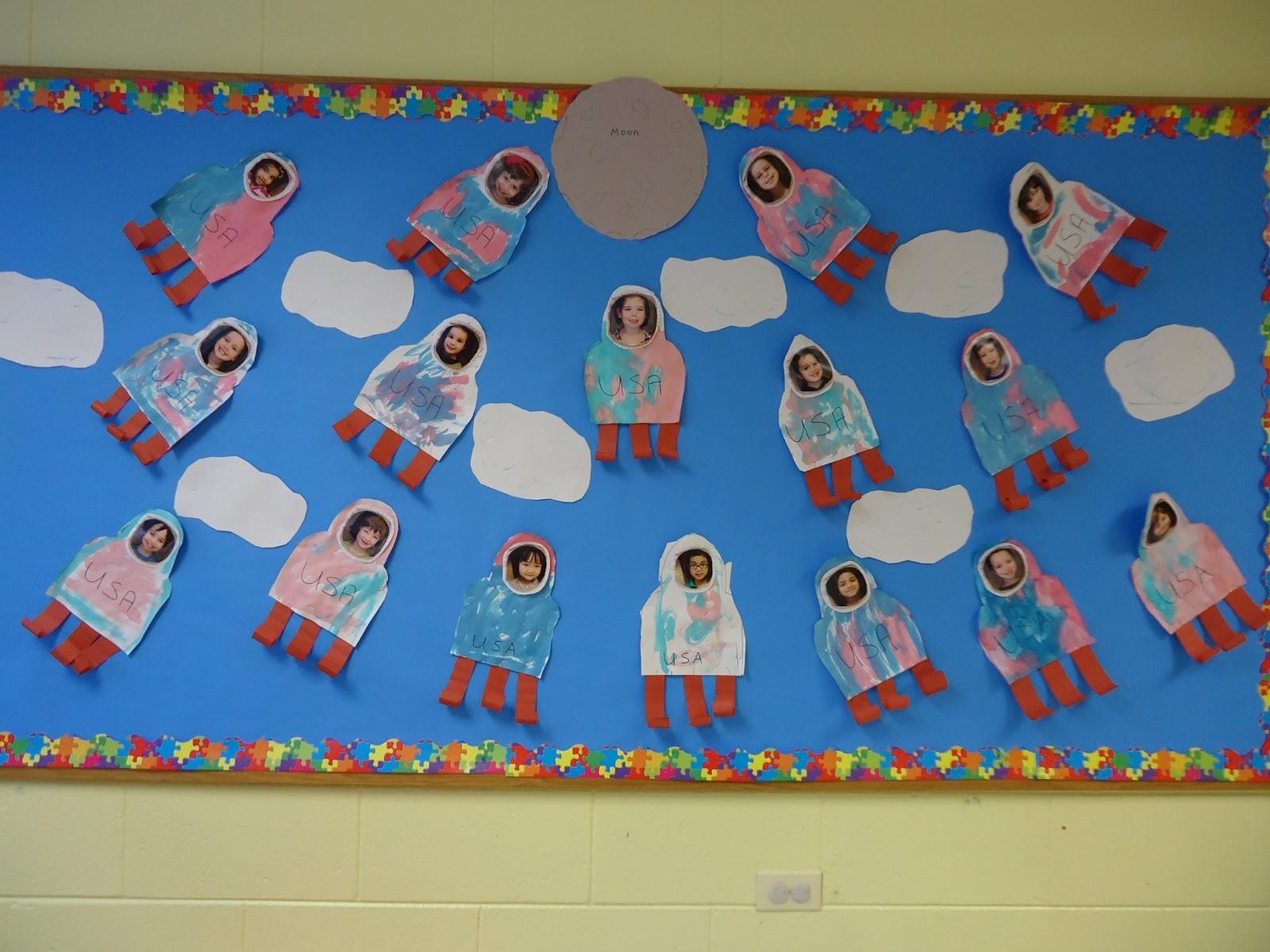 Trinity Preschool Mount Prospect Space Bulletin Board
