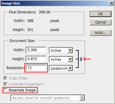 how to set up document size in illustrator