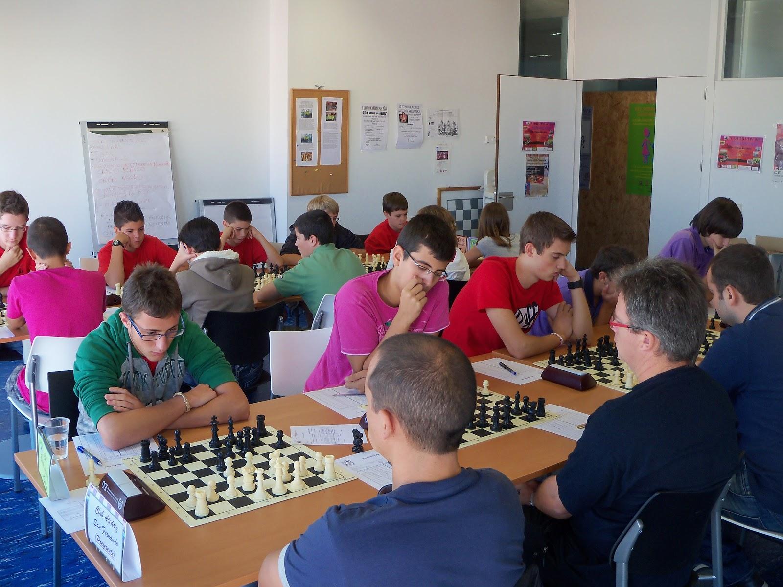 Nuestro ajedrez en europa septiembre 2011 - Tableros sanz madrid ...
